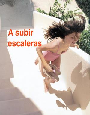 A subir escaleras!
