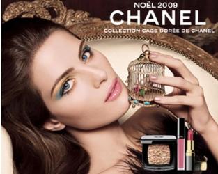 maquillaje navideño Chanel 2009
