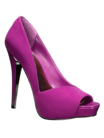 zapatos morados