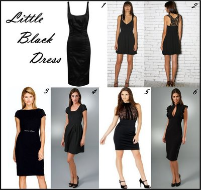 Consejos Para Elegir Un Vestido Negro B  Sico