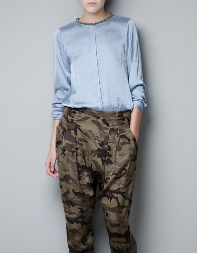 al por mayor elige mejor precio al por mayor pantalones de camuflaje mujer zara