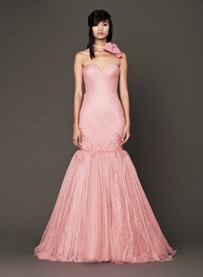 embedded_Vera_Wang_Fall_2013_Bridal_Gown_Salmon