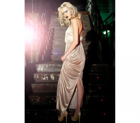 embedded_bershka-champagne-maxi-dress