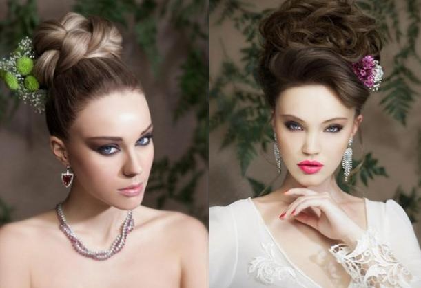 peinados pendientes recogidos modernos
