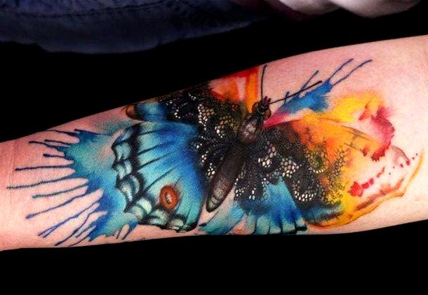 embedded_butterfly_watercolor_tattoo