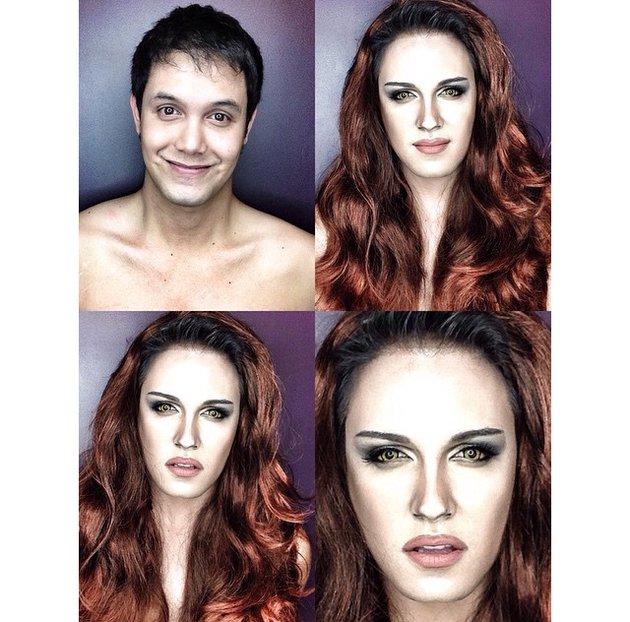 embedded_man_transforms_into_kirsten_stewart_as_bella_with_makeup