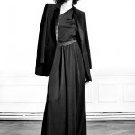 vestido largo blazer