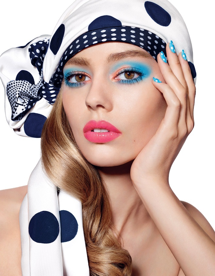 Dior-Milky-Dots-Makeup