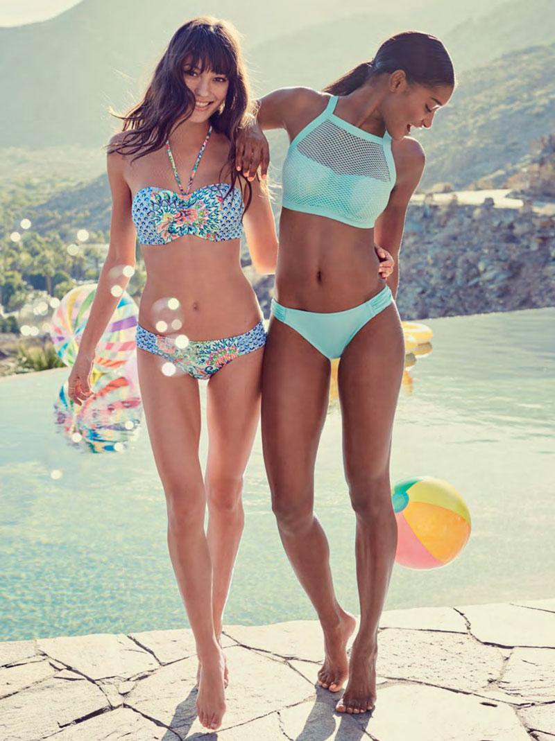 Halter-Neck-Bikinis