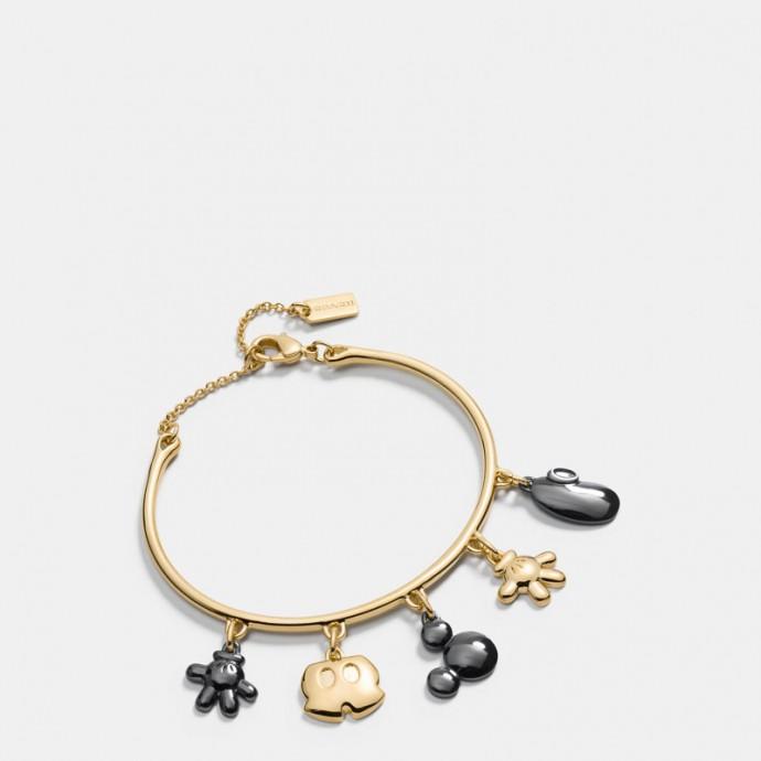 Coach-Disney-Mickey-Charm-Bracelet