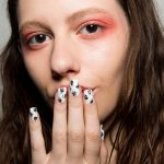22-bibu-mohapatra-fall-2017-white-nails-black-splatter-design