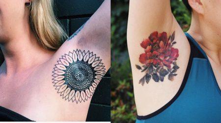 el tatuajes de axila s has ledo escuch es la tendencia ms caliente en instagram ahora la mayora de nosotros solo nos miramos las axilas mientras