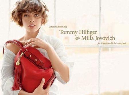 Milla Jovovich y Tommy Hilfiger