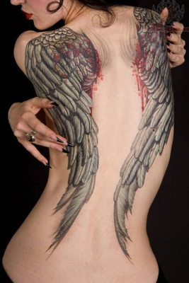 embedded_angel_wings_tattoo_for_girls