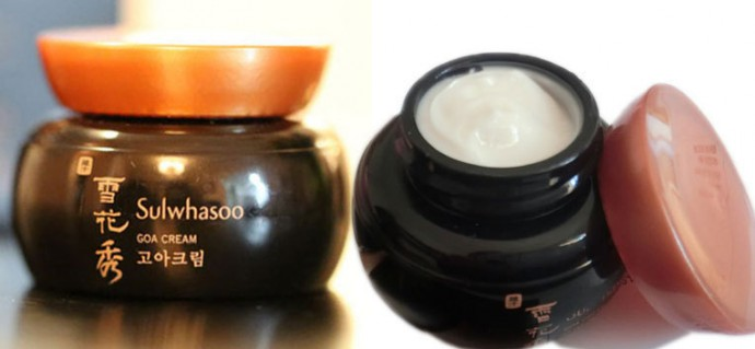 Rare-hierbas-maquillaje-corea-Sulwhasoo-Goa-crema-5-ml-hidratante-blanqueamiento-antiarrugas-desaparecer-manchas-oscuras-pigmento